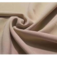 4 way stretch single side crepe lycra dress fabric 92/8 polyester lycra stretch one side brushed fleece design garment f Manufactures