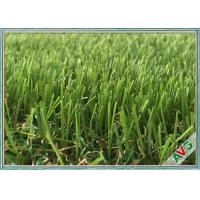 Quality Leisure Kindergarten Outdoor Artificial Grass Green Color With Safety Woven Backing for sale