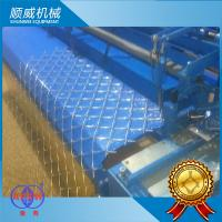 1.3T Weight Automatic Chain Link Fencing Machine Weaving Opening 25mm - 100mm Manufactures