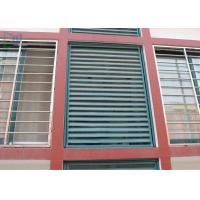 Quality Customized Aluminum Louver Window Robust Construction Vinyl Window Shutters for sale