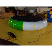 Outdoor Sporting Inflatable Water Trampoline Attractive Fireproof Manufactures