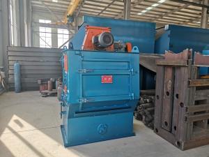 2500m3/H 1200kg/H Tumble Shot Blasting Machine Manufactures