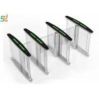 Slim Servo Motor Fast Speed Turnstile , Access security barrier gate Systems Manufactures