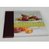 China Professional Personalized Cook Book Printing On Demand , offset printing services on sale