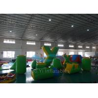 0.6mm PVC Tarpaulin Inflatable Air Bunkers For Paintball Arena Manufactures