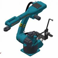 1.1kw-12.5kw 6 Dof Robotic Arm Material Handling Robots Customized Mechanical Arm Kit Manufactures