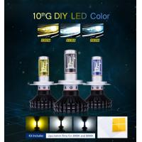 Auto head lights Guangzhou manufacturer H4 fanless LED bulb 80W H4 LED Headlight Manufactures