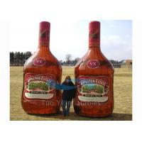 Colorful Giant Inflatable Beverage / Inflatable Product Replicas With Digital Printing Manufactures