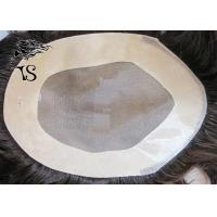 Free Style Mono Center Mens Hair Pieces Wigs With 100% Indian Remy Human Hair Manufactures