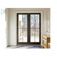Quality Waterproof Double Glazing Aluminium Swing Door With Germeny Hardware System for sale