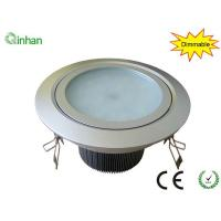 Aluminum and glass 15W warm white 50000h dimmable LED downlight ,2 years warranty Manufactures