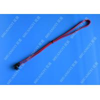 SATA Revision 3.0 Black Laptop SATA Cable Straight To Right Angle SATA 600 Manufactures