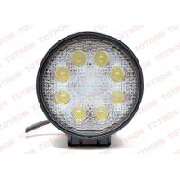 Long Life Vehicle LED Lights 24W  Off Road 12 Volt LED Work Lights Super Bright Manufactures
