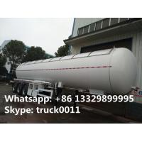 CLW brand 58500Liters bulk lpg gas trailer with sunshield cover for sale, best price propane gas tank trailer for sale Manufactures