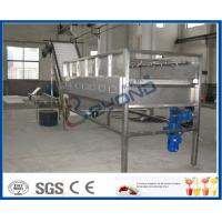 SUS304 Stainless Steel Fruit Processing Equipment For Cleaning Fruits And Vegetables Manufactures