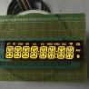 Buy cheap Common Cathode Custom LED Display Ultra Bright Amber 8 Digit 14 Segment Long from wholesalers