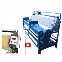 Leatheroid Cloth Rolling Machine 2250 * 650 * 1300 Mm Flexible Controlled Speed Manufactures