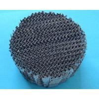 Metallic Structure Packing for Distillation Manufactures