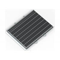 Anti Rust Steel Galvanised Drainage Grates Light Structure Anti Explosion Manufactures