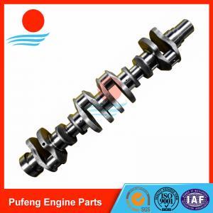 China Komatsu 6D140 crankshaft supplier in China, forged steel crankshaft 6162-33-1131 6211-31-1010 6211-31-1110 6261-31-1200 on sale