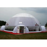 420D Beautiful Inflatable Dome Tent Inflatable Yard Tent Fireproof Good Tension Manufactures