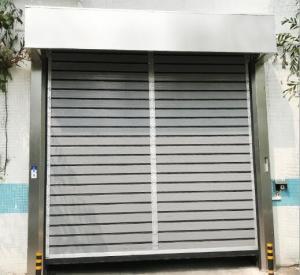 43mm 1.5m/S Rapid Aluminium Roller Shutter Doors Manufactures