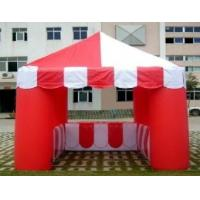 Family Garden Inflatable Party Tent Red With 420d / 210d Oxford Cloth Manufactures