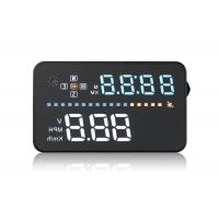 GPS Audi A3 Head Up Display , 3.5 Inch Windshield Speedometer Display PC ABC Material Manufactures