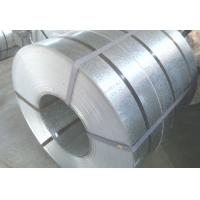 Hot Dipped GI Coated Galvanized Steel Strip 0.25mm - 4mm Thickness With Regular Spangle Manufactures