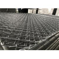 "8'x12' chain link fence panels 1⅝""(42mm) chain mesh 50mm x 50mm diameter 11.5ga/2.75mm hot dipped galvanized 366gram/sqm Manufactures"