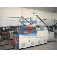 Quality Twin Screw Extruder Wood Plastic Extrusion Line for Ceiling Panel for sale