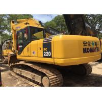 2009 Year 22 Ton Second Hand Diggers Komatsu PC220 - 7 With High Performance Manufactures