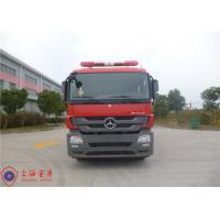 Departure Angle 11° Fire Fighting Truck With Euro IV Emission Standard Manufactures