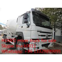 SINO TRUK HOWO 6*4 RHD 8m3 cement mixer truck for sale, new  Euro 2 diesel 336HP 8m3 HOWO concrete mixer truck for sale Manufactures