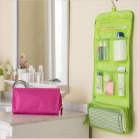 Portable Hanging Travel Cosmetic Bags Waterproof For Avoiding Wetting Other Luggage Manufactures