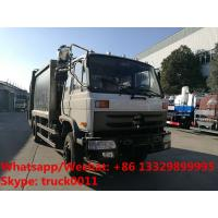 Quality Factory sale bottom price dongfeng 10m3 compression garbage truck refuse garbage truck customized for Kyrgyz Republic for sale