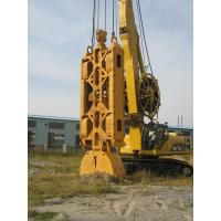 Crawler Crane Diaphragm Wall Grab Parts With 3.5m Length 1m Width 60m Depth Grooving Manufactures