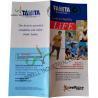 Normal Binding Folded Leaflet Printing , Custom Tri Fold Brochure Pamphlet for sale