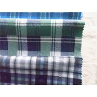 Dyed Plaid Cotton Flannel Cloth Waterproof Anti static For Shirt / Bedding Manufactures
