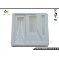 Eco Friendly Blister Plastic Packing Material Glossy Inner Tray For Cosmetic Bottle Manufactures