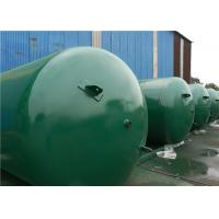 ASME Approved Horizontal Air Receiver Tanks For Air Compressors Systems Manufactures