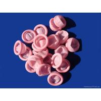 cleanroom powderfree ESD latex pink finger cot Manufactures