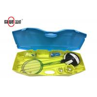 Movable Tennis Badminton And Volleyball Set , Heavy Duty Badminton Set With Net Manufactures