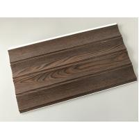 Wooden Groove Laminate Wall Panels , Commercial Washable Wall Panels Manufactures