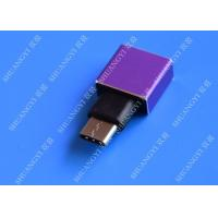USB 3.1 Type C to USB 3.0 A Adapter OTG Micro USB Female High Contact Efficiency Manufactures