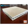 Sandstone Honeycomb Stone Panels , Customized Size Honeycomb Core Panel Manufactures