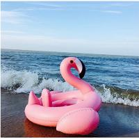 Splendid Flamingo Baby Swimming Ring Leak Resistant For 8 - 48 Months Infants Manufactures