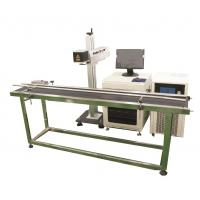 Production line Fiber Laser Marking Machine for Brass, Copper Materials Manufactures