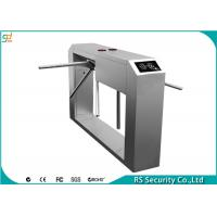 Waist Height Turnstile Gate Drop Arm Barrier Double Core Tripod Turnstiles Manufactures