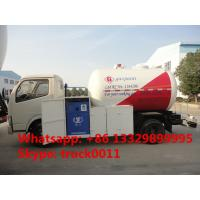 Quality hot sale CLW brand best price 5000Liters lpg gas dispensing truck, CLW brand for sale